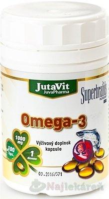 JutaVit Omega 3 - 1000 mg 100 cps.