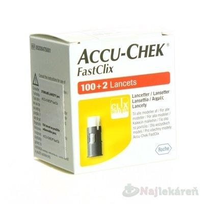 Accu-Chek FastClix Zásobník lancetový do odberoveho pera, 17x6 lanciet 102 ks