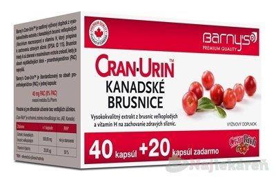 Barny´s Cran-Urin Kanadské Brusnice 40 + 20 cps.
