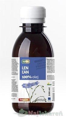 VIRDE ĽAN 100 % OLEJ, 200 ML - Vidre Laň 100 % olej 200 ml