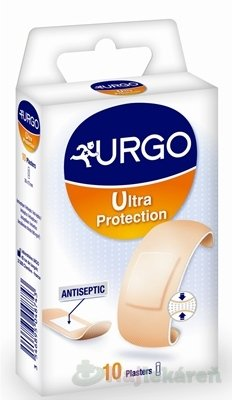URGO Ultra Protection náplasť maximálna ochrana(20x72 mm) 10ks