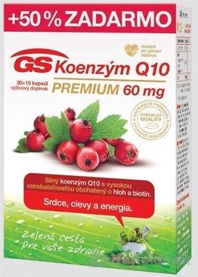 GS Koenzym Q10 Premium 60 mg 30+15 cps.