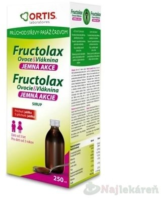 ORTIS Fructolax Sirup 250ml
