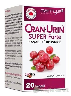 Barny´s Cran-Urin Super Forte Kanadské Brusnice 20 cps.