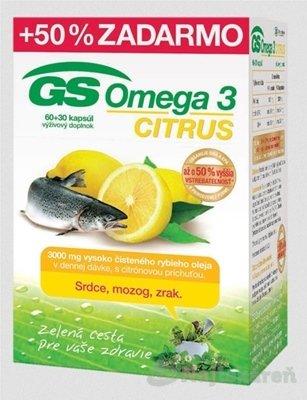 GS Omega 3 Citrus 60+30 kapsúl 2015