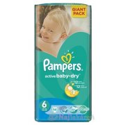 PAMPERS Active Baby-dry GP 6 Extra Large