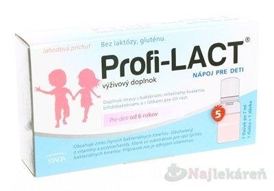 PROFI-LACT NAPOJ PRE DETI 5X7 ml