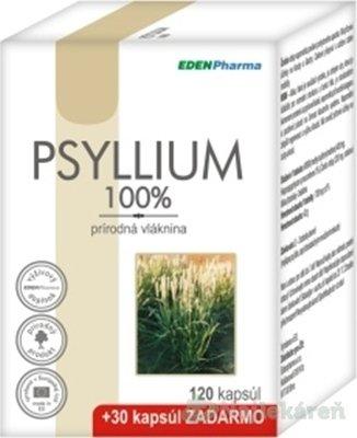 EdenPharma Psyllium 120+30 cps.