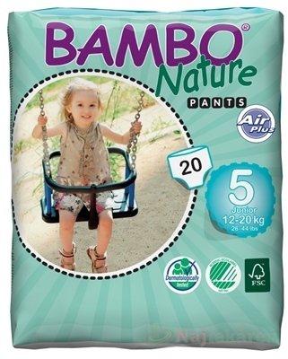 BAMBO PANTS Junior-5 pre deti 12-20 kg