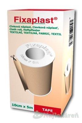FIXAplast Cievková náplasť textilná (10cmx5m) 1ks