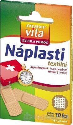 MaxiVita Náplasti textilné