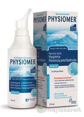 Omega Pharma Physiomer Gentle Jet & Spray 135 ml
