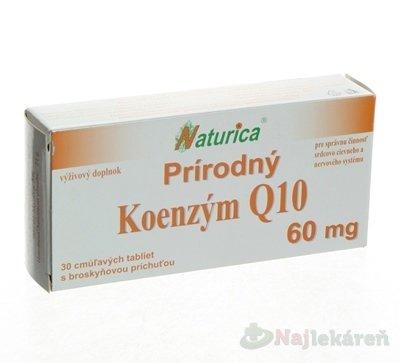 Naturica N Koenzym Q10 prirodniny 60 mg 30 tbl.