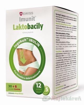 Swiss Imunit Laktobacily Junior 36 tbl.