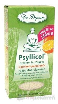 Dr.Popov Psyllicol Pomaranc rozpustná vláknina 100 g