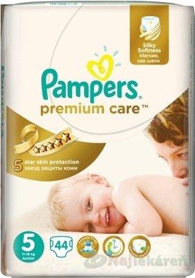 Pampers Premium Care 5 Junior 11-18 kg 44 ks