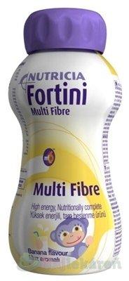 Fortini Multi Fibre pre deti, výživa s banánovou príchuťou, 200 ml