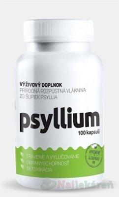 Top Green Psyllium, rozpustná vláknina, 100 cps