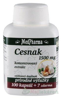 MedPharma Česnek 1000 mg tob. 107