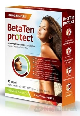 STRONG NATURE BetaTen protect, 30 cps