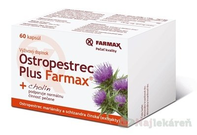 Farmax Ostropestřec Plus 60 tbl.