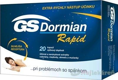 GS Dormian Rapid 20 cps.