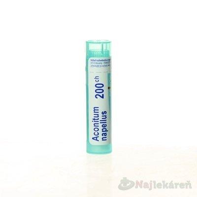 ACONITUM NAPELLUS, GRA HOM CH200, na neurologické indikácie, 4 g