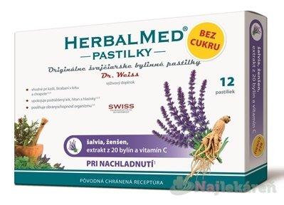 Herbalmed Dr.Weiss šalvia ženšen extrakt 20 bylín a vit.C 12