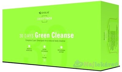 SENSILAB 30 DAYS Green Cleanse, DETOX cps 60 + BALANCE cps 60 + NUTRITION cps 60