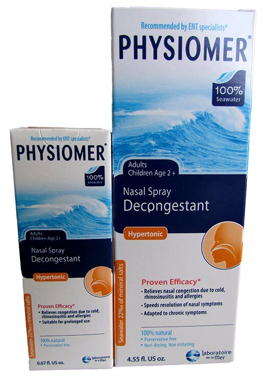 PHYSIOMER Nosový sprej Hypertonický, s obsahom morskej vody 20 ml