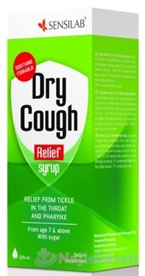 SENSILAB Dry Cough Relief, sirup 125 ml