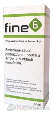 Fine6 olej na hemoroidy 50 ml