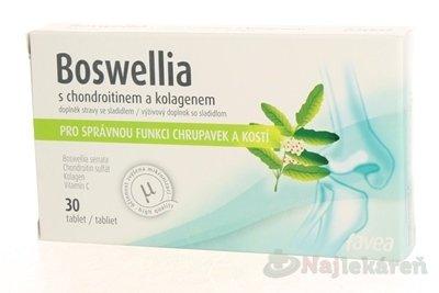 BOSWELLIA s chondroitínom a kolagénom, 30 tbl
