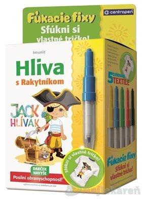 Imunit HLIVA s Rakytníkom pre deti JACK HLÍVÁK 60 ks + Darček (fúkacie fixy)