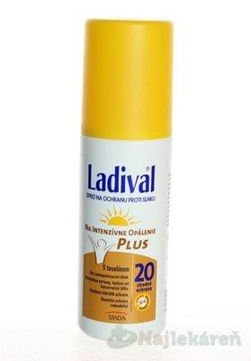 Ladival P+T Plus spray na opaľovanie SPF20 150 ml