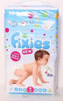 Fixies CLASSIC MAX Detské absorpčné plienky, 48ks