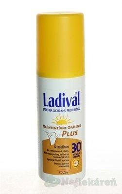Ladival P+T Plus spray na opaľovanie SPF30 150 ml