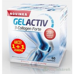 GELACTIV 3-Collagen Forte Akcia 1+1
