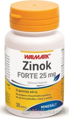 WALMARK ZINOK FORTE 25 mg 1 x 30 ks