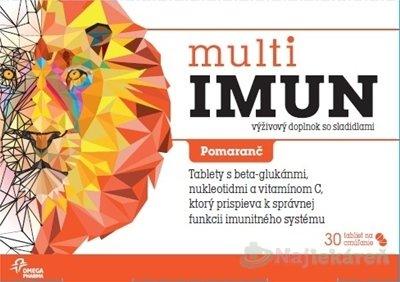 MultiIMUN cmúľacie tablety 30 ks