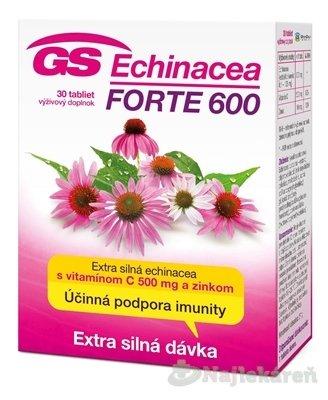 GS Echinacea Forte 600 tbl. 30 ks