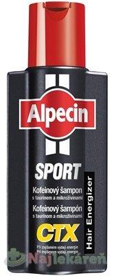ALPECIN SPORT Kofeínový šampón CTX 250 ml