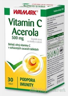 Walmark Vitamin C Acerola 500mg 30 tabliet