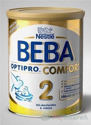 Nestlé BEBA OPTIPRO COMFORT 2 následná výživa dojčiat (od ukonč. 6. mesiaca) 800 g