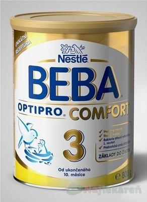 Nestlé BEBA OPTIPRO COMFORT 3 následná výživa dojčiat (od ukonč. 10. mesiaca) 800 g