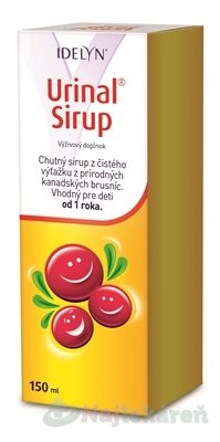 IDELYN Urinal Sirup, 150 ml