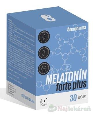 Edenpharma Melatonín forte plus 30 tbl.
