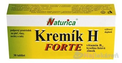 Naturica Kremík H Forte 30 tablet