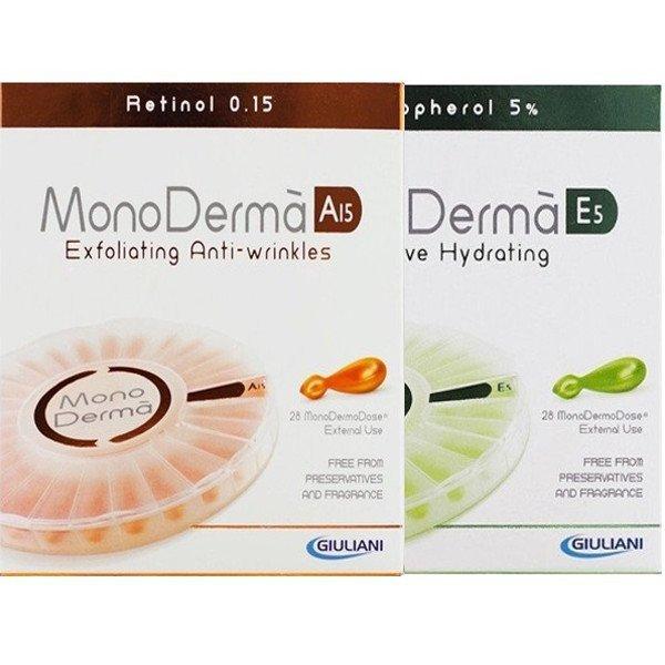 Monodermá A15 + Monodermá E5 28 + 28 cps