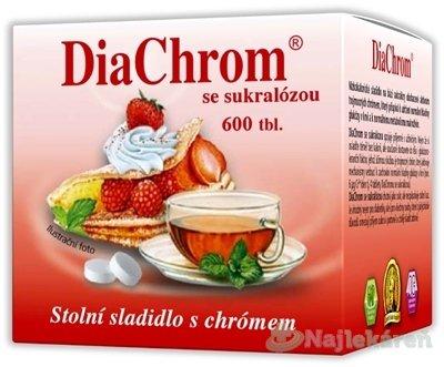 DiaChrom so sukralózou 600tbl